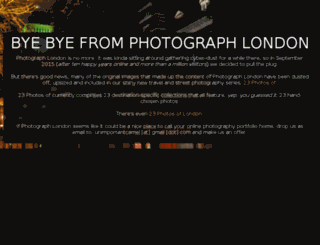 photograph-london.com screenshot