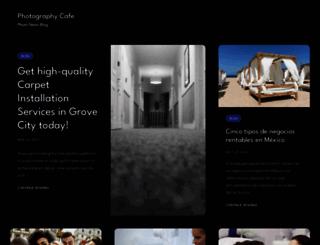 photography-cafe.com screenshot