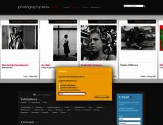 photography-now.com screenshot