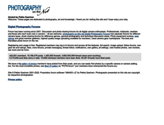 photography-on-the.net screenshot