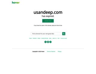 photography.usandeep.com screenshot