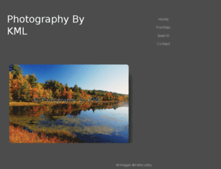 photographybykml.com screenshot