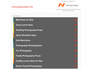 photographyideas.info screenshot