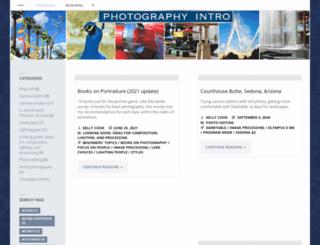 photographyintro.com screenshot