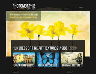 photomorphis.com screenshot