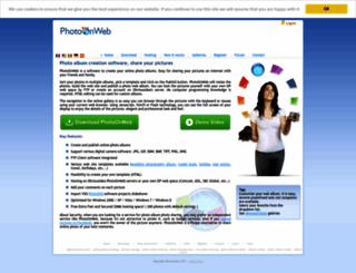 photoonweb.com screenshot