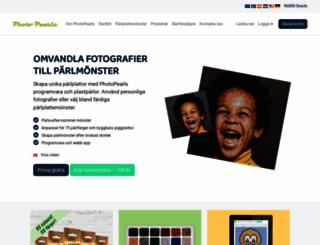 photopearls.se screenshot