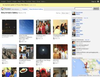 photos.benjarriola.com screenshot