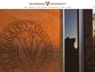photos.valpo.edu screenshot