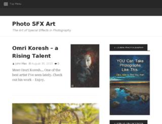 photosfxart.net screenshot