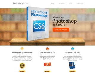 photoshopbasic.com screenshot