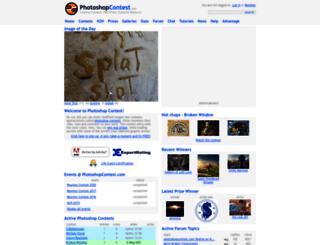 photoshopcontest.com screenshot