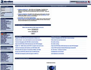 php-editors.com screenshot