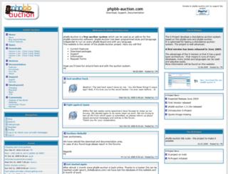 phpbb-auction.com screenshot