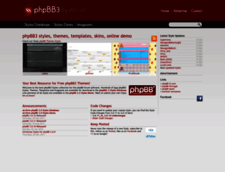 phpbb3styles.net screenshot