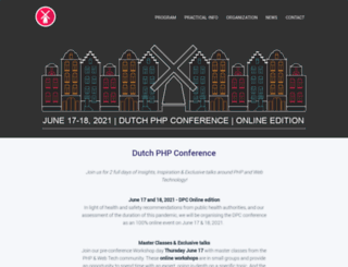 phpconference.nl screenshot