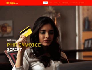 phpinvoicescript.com screenshot