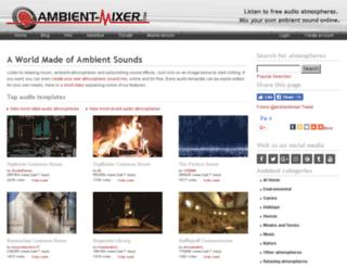 phpmyadmin-am.ambient-mixer.com screenshot