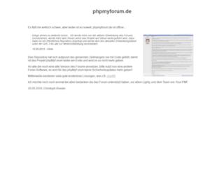 phpmyforum.de screenshot