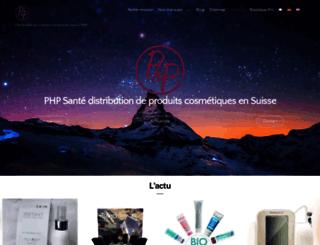 phpsante.com screenshot