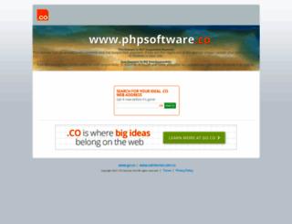 phpsoftware.co screenshot