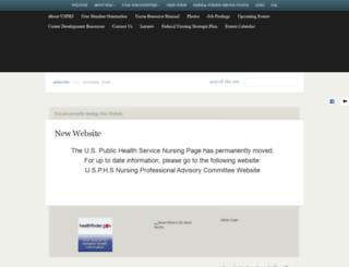 phs-nurse.org screenshot