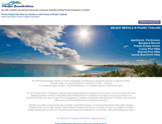 phuket-beachvillas.com screenshot