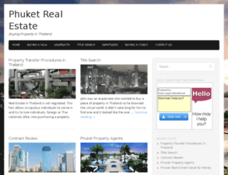 phuket-real-estate.com screenshot