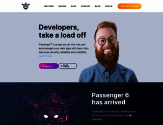 phusionpassenger.com screenshot