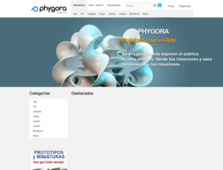 phygora.com screenshot