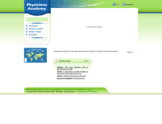 physicians-academy.com screenshot