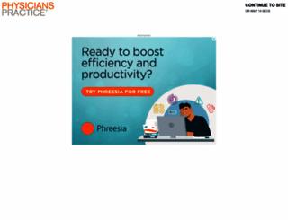 physicianspractice.com screenshot
