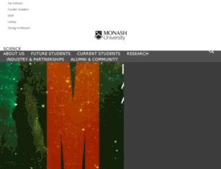 physics.monash.edu.au screenshot