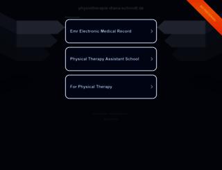 physiotherapie-diana-schmidt.de screenshot