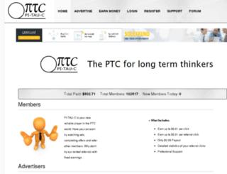 pi-tau-c.net screenshot