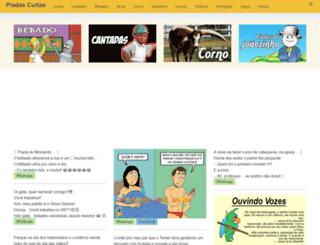 piadascurtas.com.br screenshot