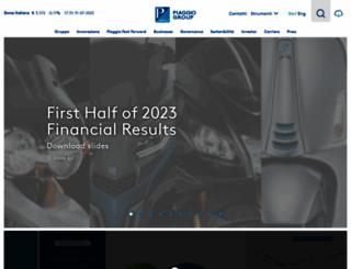 piaggiogroup.com screenshot