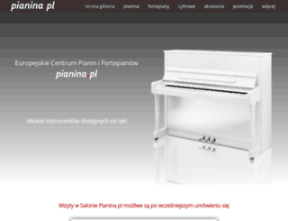 pianina.pl screenshot