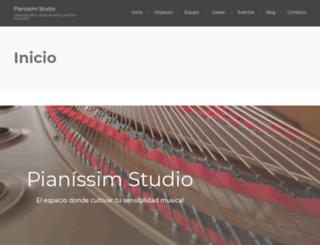 pianissim.com screenshot