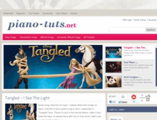 piano-tuts.net screenshot