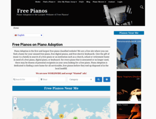 pianoadoption.com screenshot
