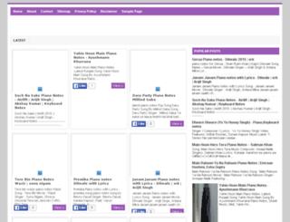 pianonotestutorial.blogspot.in screenshot