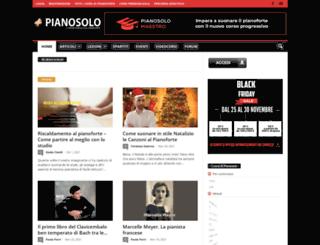 pianosolo.it screenshot