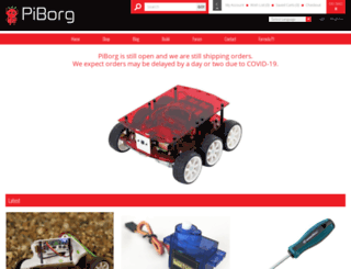 piborg.org screenshot
