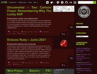 picandocodigo.net screenshot