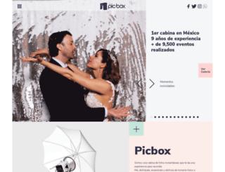 picbox.com.mx screenshot