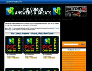 piccomboanswers.com screenshot