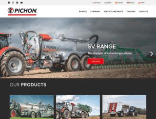 pichonindustries.com screenshot
