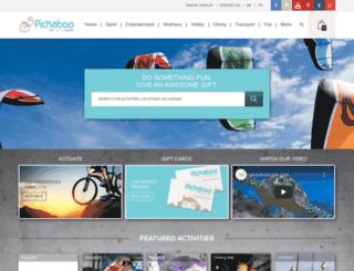 pickabooclub.com screenshot