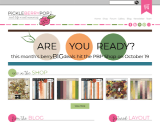 pickleberrypop.com screenshot